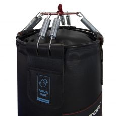 Водоналивной боксерский мешок «AQUA BAG» натуральная кожа, высота 130 см, Ø 40 см