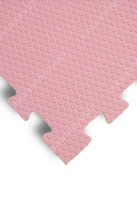 Мягкий пол универсальный, 100*100(см), толщина 1.4см, розовый