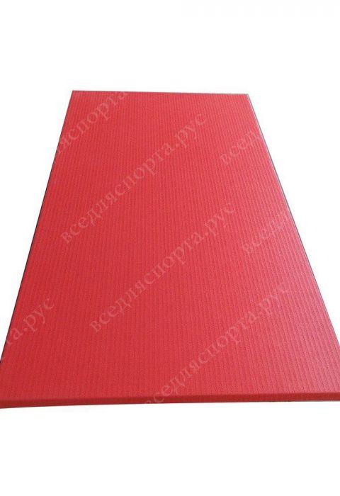 """Татами """"JUDO"""" с открытым дном, толщина 4см, плотность 220, цвет красный"""