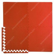 Мягкий пол универсальный, 50*50(см), толщина 1.4см, красный