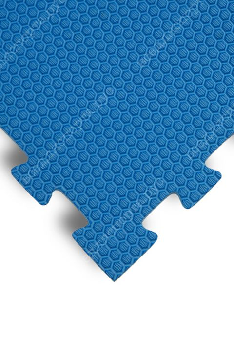 Будо-маты EVA «Ласточкин хвост» 1,4 см 35 ШОР синий
