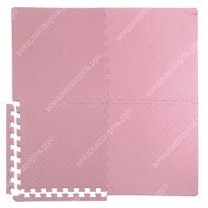 Мягкий пол универсальный, 50*50(см), толщина 1.4см, розовый