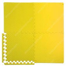 Мягкий пол универсальный, 50*50(см), толщина 1.4см, желтый
