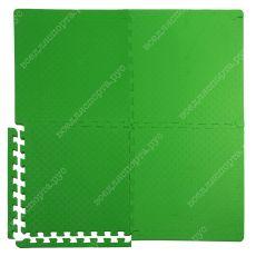 Мягкий пол универсальный, 60*60 (см), толщина 1см, зеленый