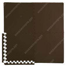 Мягкий пол универсальный, 50*50(см), толщина 1.4см, коричневый