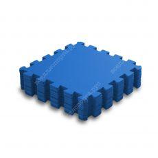 Мягкий пол, 33*33(см), толщина 1см, синий