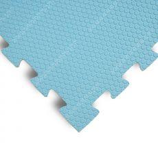Будо-маты EVA «Ласточкин хвост» 1,4 см 35 ШОР голубой
