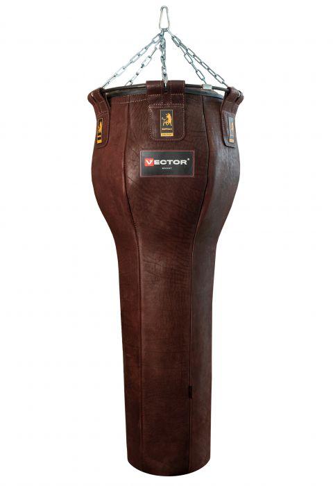 Груша боксерская «Шар-гигант» из натуральной кожи, высота 80 см, Ø 55 см, вес 45-50 кг.