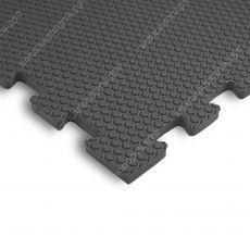 Мягкий пол EVA «Ласточкин хвост» 1,4 см 35 ШОР серый