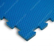Мягкий пол EVA «Ласточкин хвост» 1,4 см 35 ШОР синий