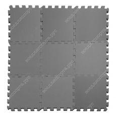 Мягкий пол,, 33*33(см), толщина 1см, серый