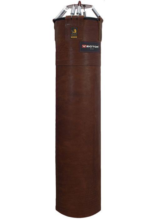 Мешок боксерский «BUFFALO» из буйволиной кожи, высота 150 см, Ø 45 см