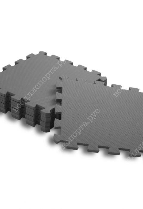 Мягкий пол универсальный, 33*33(см), толщина 1см, серый