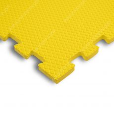 Мягкий пол универсальный, 100*100(см), толщина 1.4см, желтый