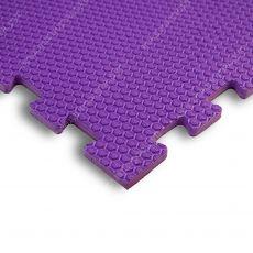 Мягкий пол EVA «Ласточкин хвост» 1,4 см 35 ШОР фиолетовый