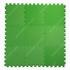 Мягкий пол универсальный, 33*33(см), толщина 1см, зеленый
