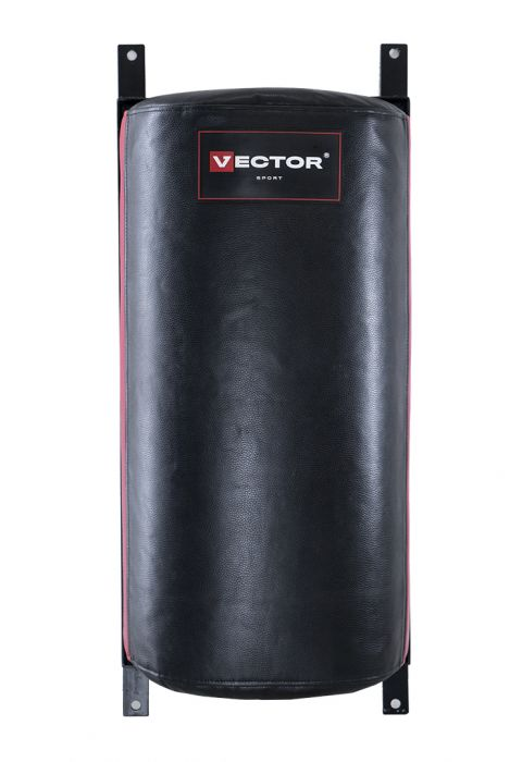 Подушка «Полусфера» большая из натуральной кожи 80см/40см/24см