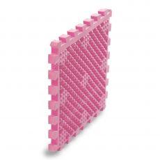 Модульное покрытия для бассейнов, саун и душевых комнат, 320*320*22, цвет розовый