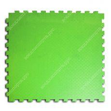 Мягкий пол универсальный, 100*100(см), толщина 1см, салатовый