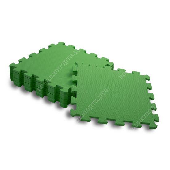 Мягкий пол, 30*30(см), толщина 1см, зеленый