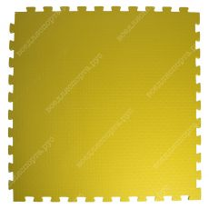 """Будо-маты EVA «Ласточкин хвост» 2см """"Сорт2"""" черно-желтый"""