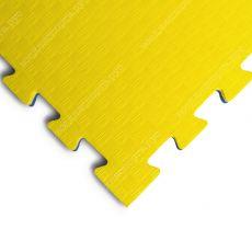 """Будо-маты EVA «Ласточкин хвост» 2,5см WTF """"Сорт2"""" желто-синий"""