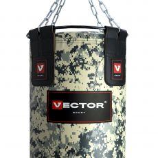 Мешок боксерский «MILITARY 40» ПВХ, высота 200 см, Ø 40 см, вес 75-80 кг.