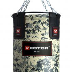 Мешок боксерский «MILITARY 45» ПВХ, высота 150 см, Ø 45 см, вес 65-70 кг.