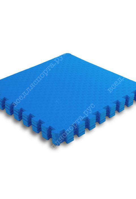 Мягкий пол универсальный, 60*60 (см), толщина 1см, синий