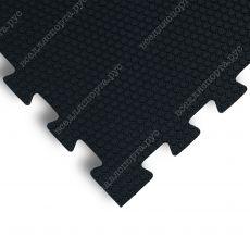 Мягкий пол универсальный, 100*100(см), толщина 1.4см, черный