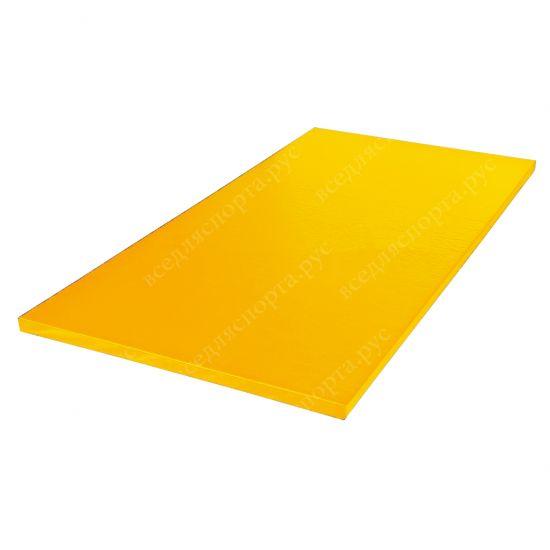 """Татами """"AKA"""" с открытым дном, толщина 4см, плотность 200, цвет желтый"""