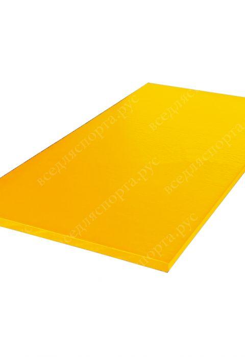 """Татами """"AKA"""" с открытым дном, толщина 4см, плотность 180, цвет желтый"""
