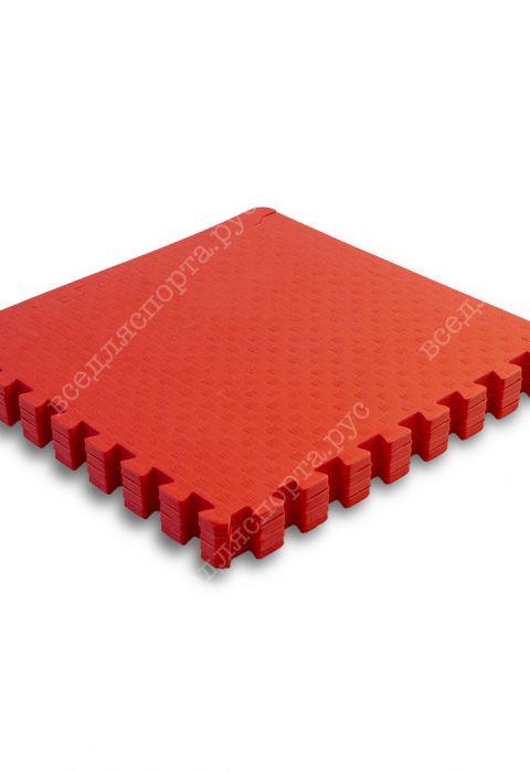 Мягкий пол универсальный, 60*60 (см), толщина 1см, красный