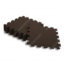 Мягкий пол,, 33*33(см), толщина 1см, коричневый