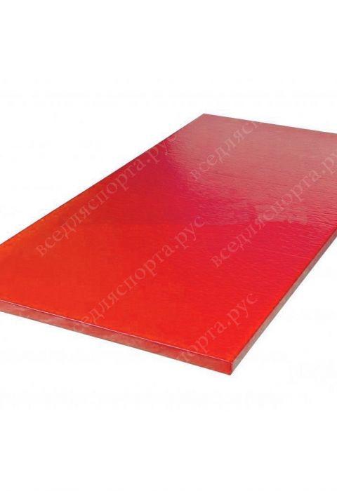 """Татами """"AKA"""" с открытым дном, толщина 4см, плотность 240, цвет красный"""