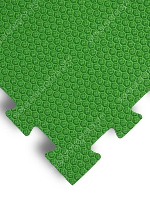 """Будо-маты EVA «Ласточкин хвост» 1,4 см """"Сорт2"""" 35 ШОР зеленый"""