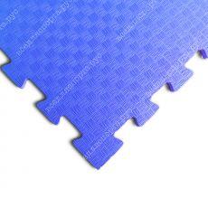 Будо-маты EVA «Ласточкин хвост» 1 см 35 ШОР синий