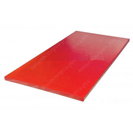 """Татами """"AKA"""" с Антислипом, толщина 4см, плотность 220, цвет красный"""