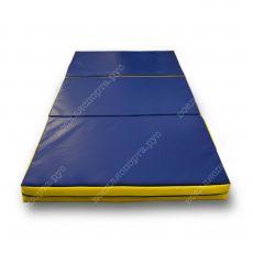 Мат Гимнастический Складной 200х300х10см (3 сложения)