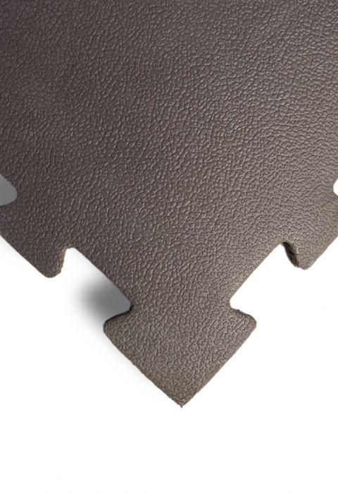 """Модульный коврик для тренажерных залов, """"Сорт2"""", толщина 1см, 1м х 1м, жесткость 55 ШОР Цвет: кор"""