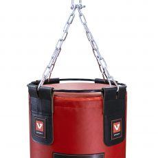Мешок боксерский из натуральной кожи, высота 150 см, Ø 40 см, вес 65-70 кг.