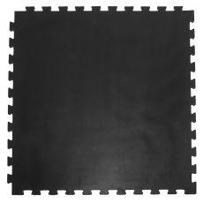 """Модульное покрытие для тренажерных залов, """"Сорт2"""", толщина 2см, 1м х 1м, жесткость 70 ШОР Цвет: чер"""