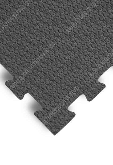 Мягкий пол универсальный, 100*100(см), толщина 1.4см, серый