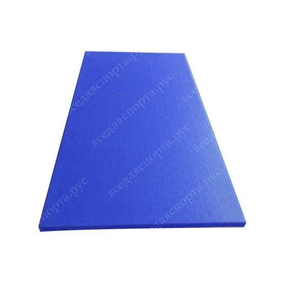 """Татами """"JUDO"""" с открытым дном, толщина 4см, плотность 220, цвет синий"""