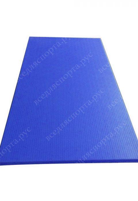 """Татами """"JUDO"""" с открытым дном, толщина 4см, плотность 180, цвет синий"""