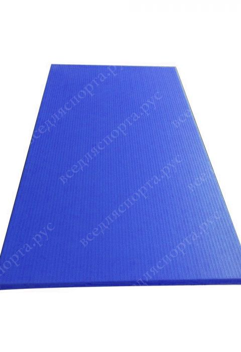 """Татами """"JUDO"""" с Антислипом, толщина 4см, плотность 220, цвет синий"""