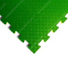 """Мягкий пол «Ласточкин хвост» 2см """"Сорт2"""" желто-зеленый"""
