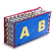 """Комплект """"Английский Алфавит"""" 25*25(см), толщина 1см, 32 дет."""