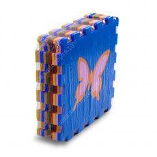"""Мягкий пол универсальный, """"Бабочки"""" 33*33(см), толщина 1см"""