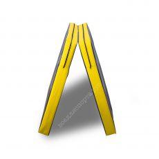 Чехол гимнастического мата складной + Антислип 200х200х30см (2 сложения)